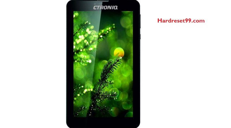 CTRONIQ C55 Hard Reset