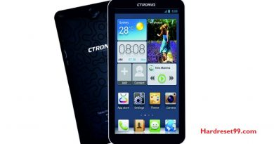 CTRONIQ C76 Hard Reset
