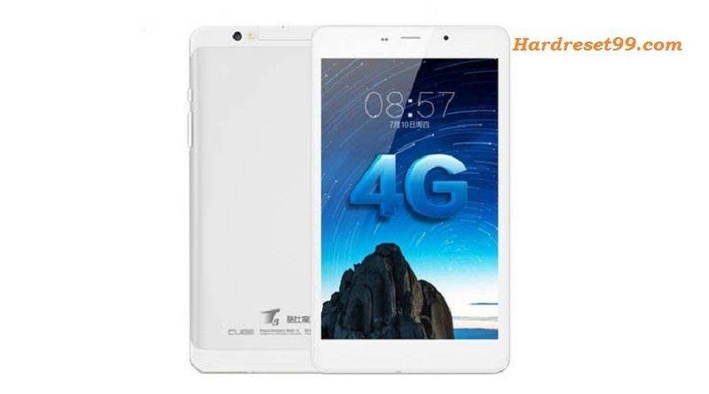 CUBE T8 Hard reset - How To Factory Reset