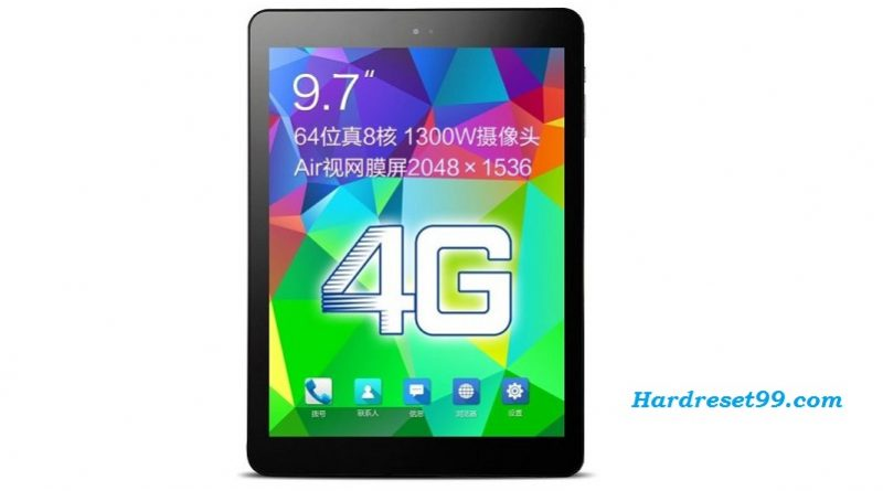 CUBE T9 LTE Hard reset - How To Factory Reset