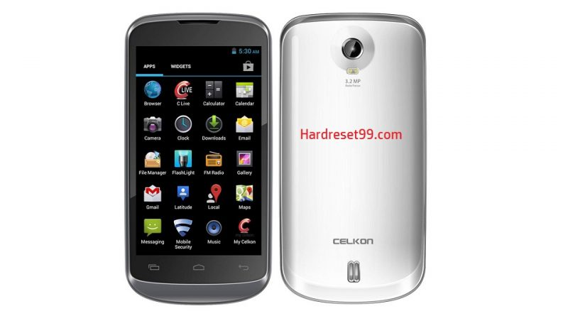 Celkon Campus A63 Hard Reset