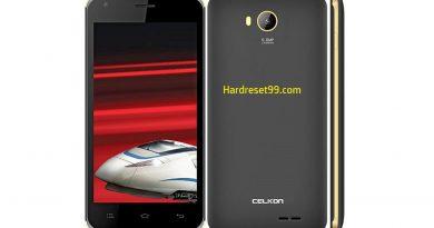 Celkon Millennia 2GB Xpress Hard Reset