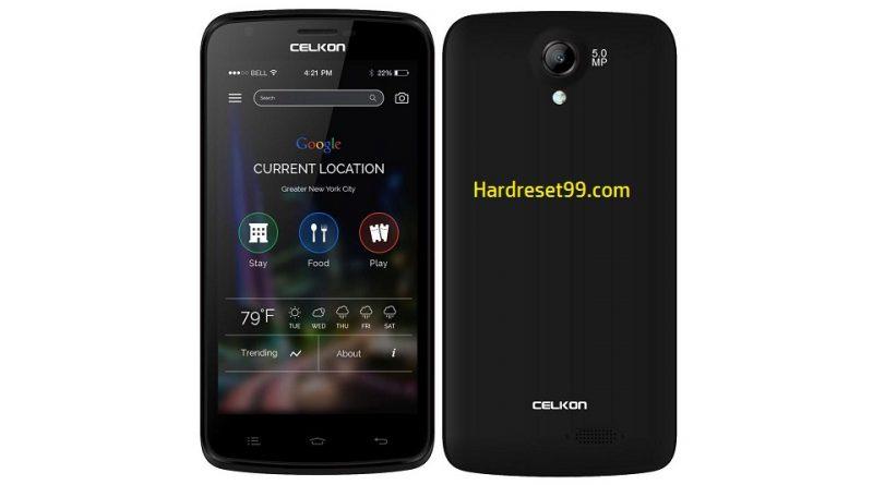 Celkon Millennia Q519 Hard Reset