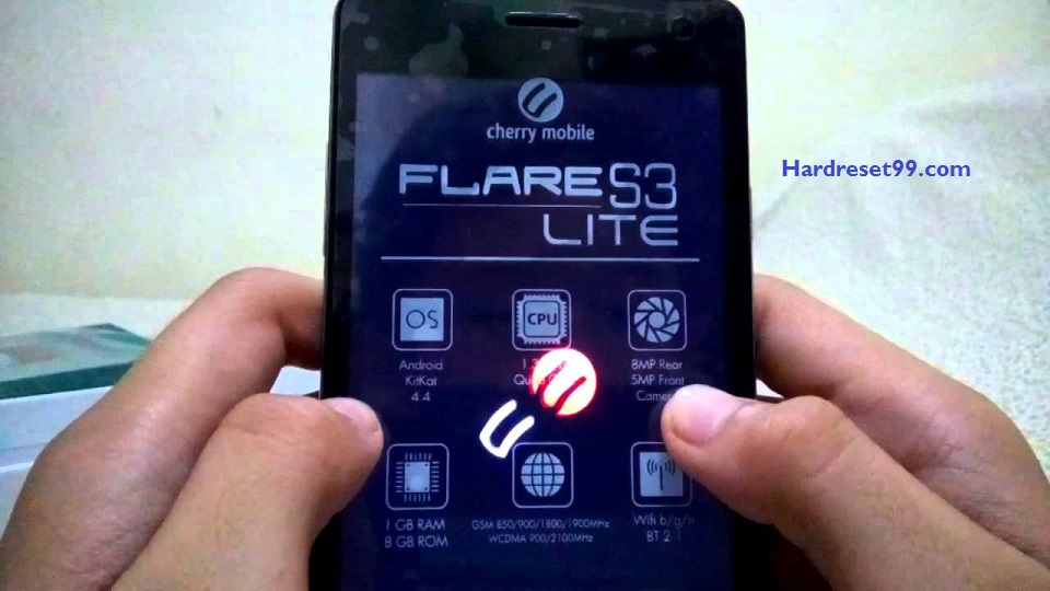 Cherry Mobile Flare S4 Lite Hard reset - How To Factory Reset
