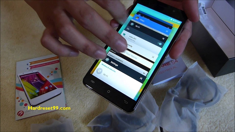 Cherry Mobile Flare S4 Max Hard reset - How To Factory Reset