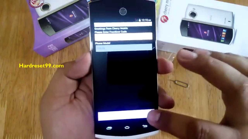 Cherry Mobile Selfie Hard reset - How To Factory Reset