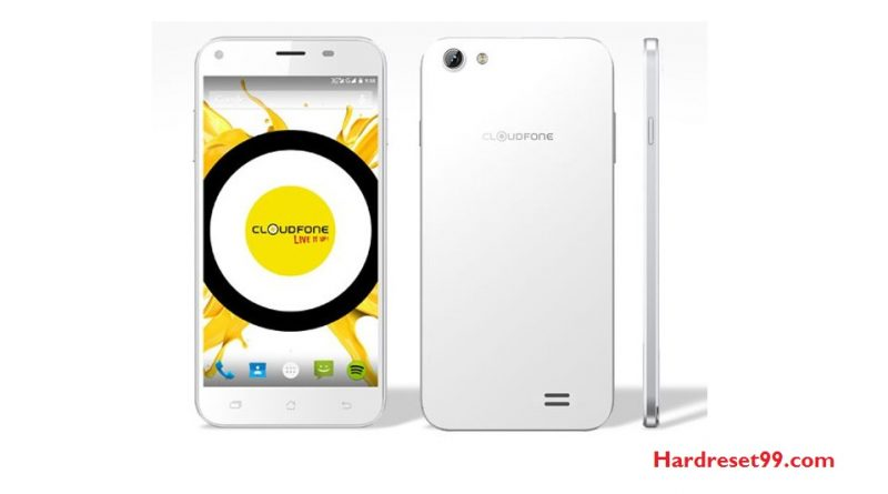 CloudFone EXCITE2 Hard Reset