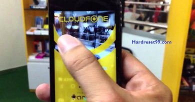 CloudFone Excite 352g Hard Reset