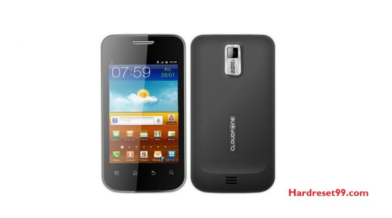 CloudFone Excite 354g Hard Reset