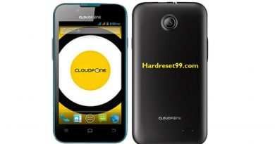CloudFone Excite 356g Hard Reset