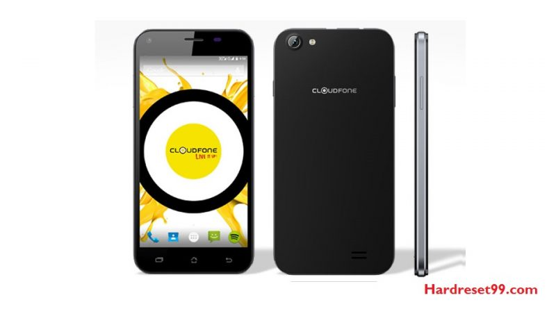 CloudFone Excite 357g Hard Reset
