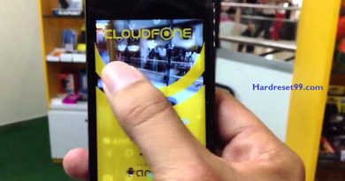 CloudFone Excite 400dx Hard Reset