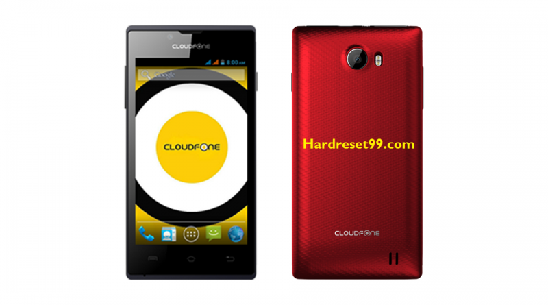 CloudFone Excite 401dx Hard Reset