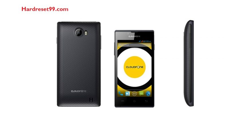 CloudFone Excite 401dx Plus Hard Reset