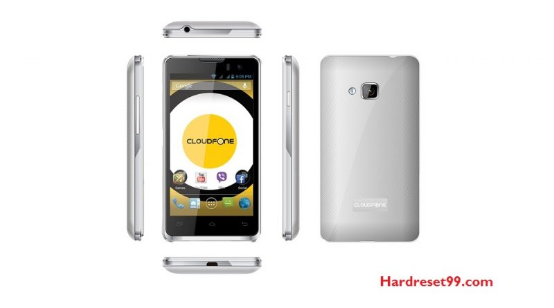 CloudFone Excite 450q Hard Reset