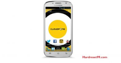 CloudFone Excite 501d Hard Reset