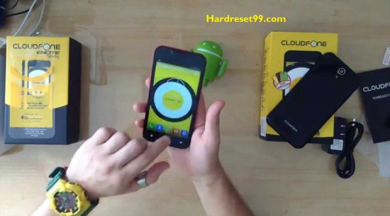 CloudFone Excite 502d Hard Reset