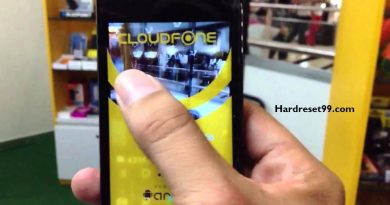 CloudFone Excite 504d Hard Reset