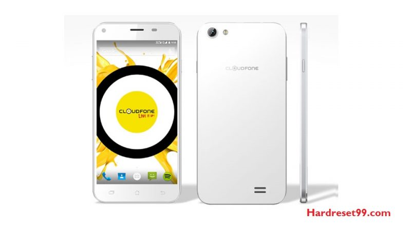 CloudFone Excite LTE Hard Reset