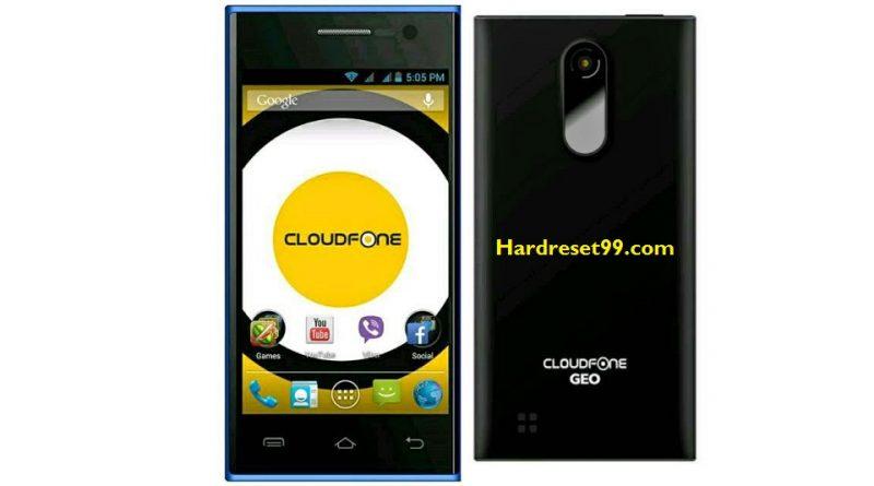 CloudFone GEO 400q Hard Reset
