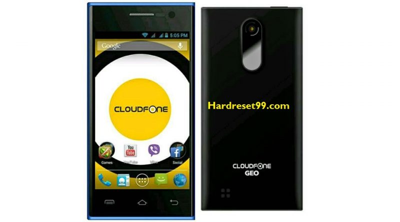 CloudFone GEO 400q Plus Hard Reset