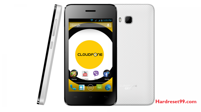 CloudFone GEO 401q Plus Hard Reset