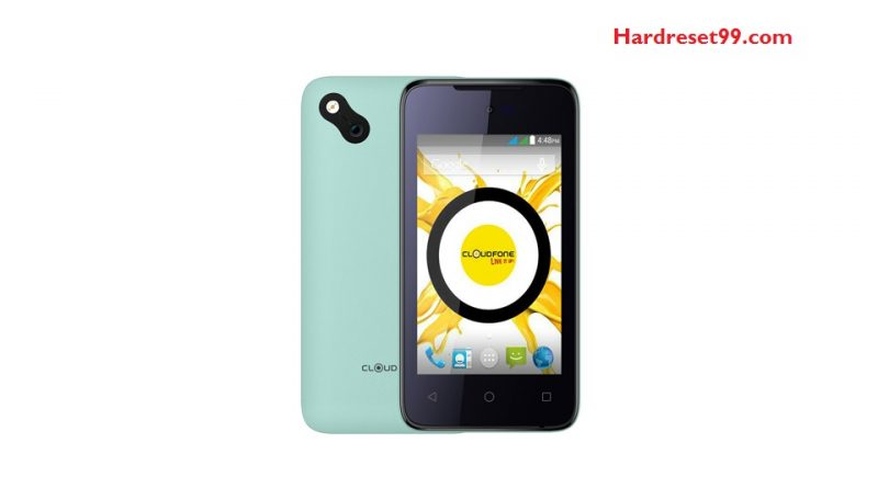 CloudFone ICE 400e Hard Reset
