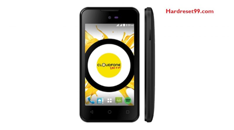 CloudFone ICE Plus 2 Hard Reset