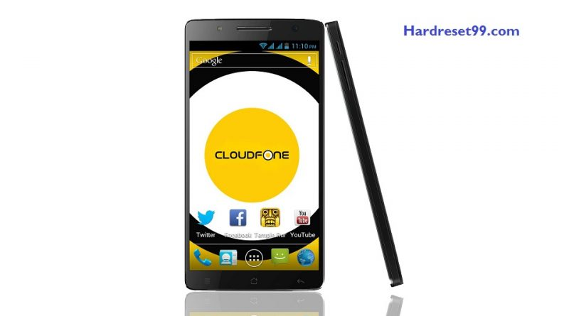 CloudFone Thrill 600 FHD Hard Reset
