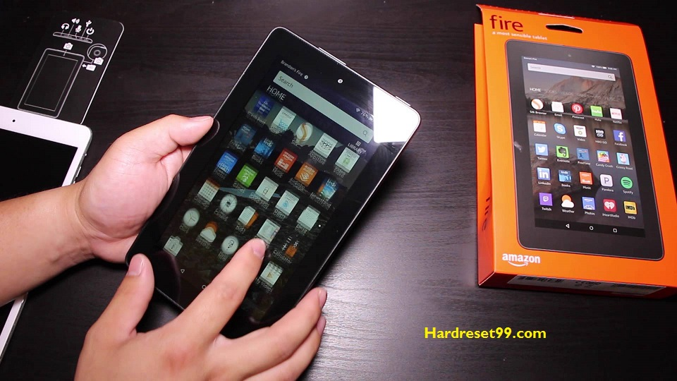 Fire 7 Hard reset - How To Factory Reset
