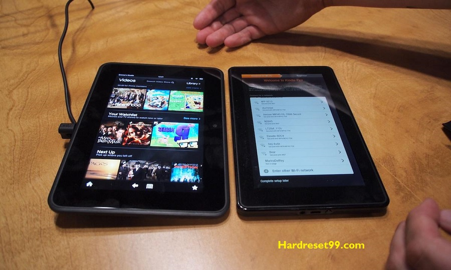Fire HD 7 Hard reset - How To Factory Reset