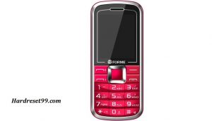 Forme Energy D9 Hard reset - How To Factory Reset