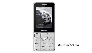Forme F451 Hard reset - How To Factory Reset