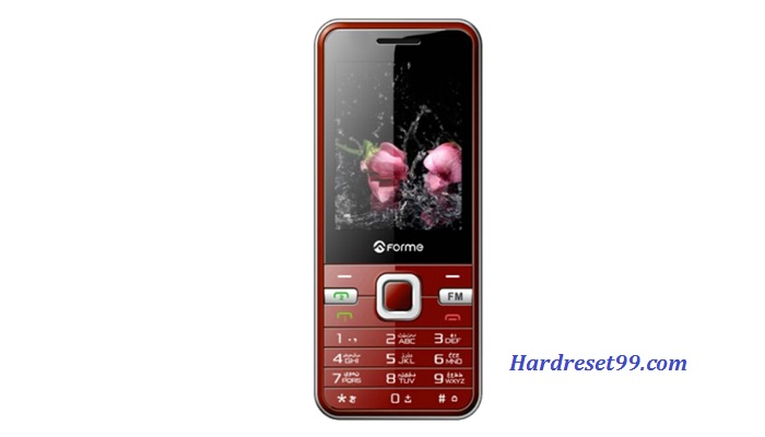 Forme M20 Hard reset - How To Factory Reset