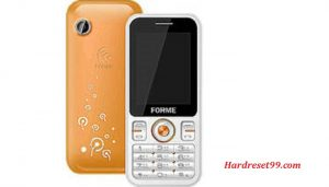 Forme Super Hard reset - How To Factory Reset