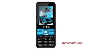 Forme U50 Hard reset - How To Factory Reset