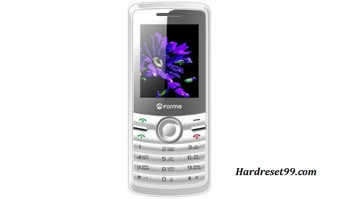 Forme U600 Hard reset - How To Factory Reset