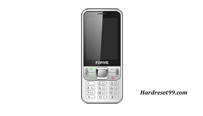 Forme Winner 5 W5 Hard reset - How To Factory Reset