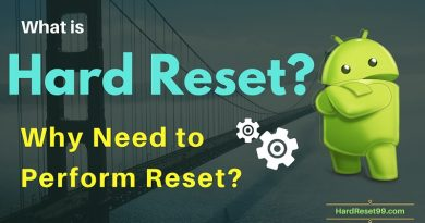 What is Hard Reset - Detailed explanation