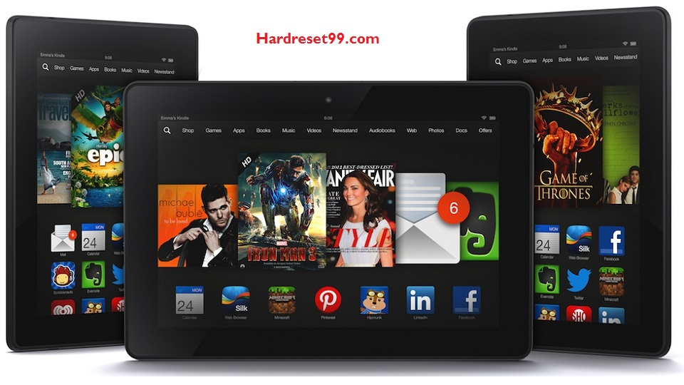 Kindle Fire HDX 8.9 Hard reset - How To Factory Reset