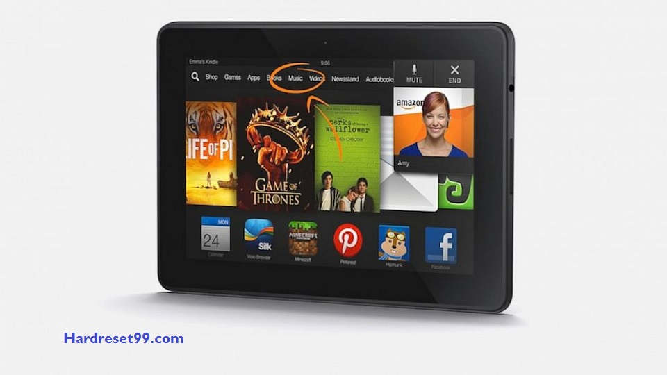 Kindle Fire HDX Hard reset - How To Factory Reset