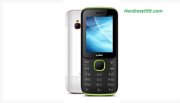 Lava ARC 240 Hard reset - How To Factory Reset