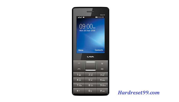 Lava Metal 24 Hard reset - How To Factory Reset