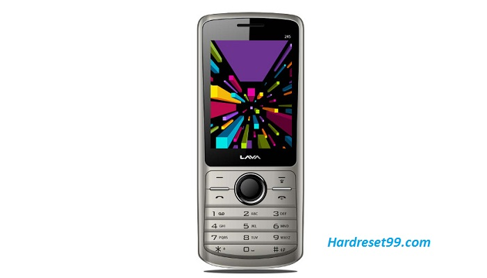 Lava Spark 245 Hard reset - How To Factory Reset