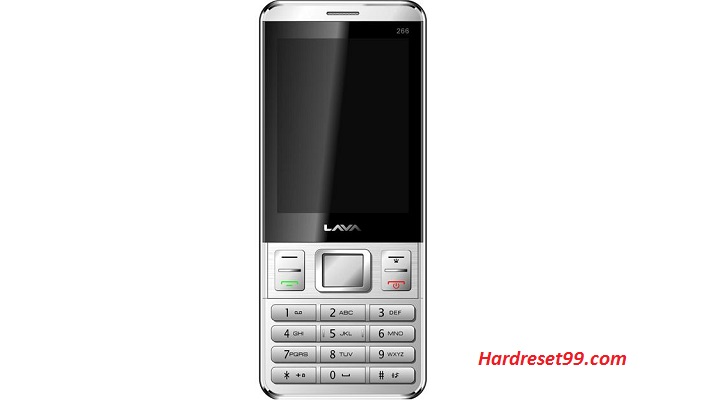 Lava Spark 266 Hard reset - How To Factory Reset