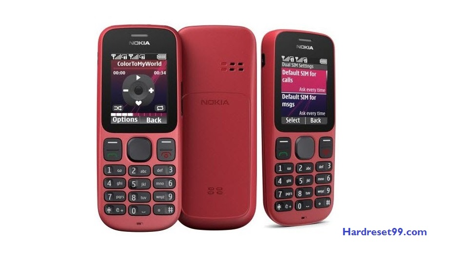 Nokia 101 Hard reset - How To Factory Reset