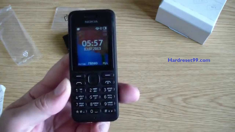 Nokia 108 Hard reset - How To Factory Reset