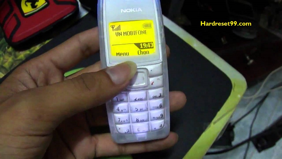 Nokia 1110 Hard reset - How To Factory Reset