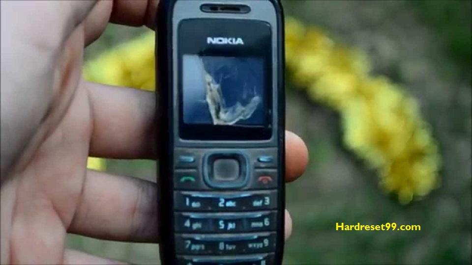 Nokia 1200 Hard reset - How To Factory Reset