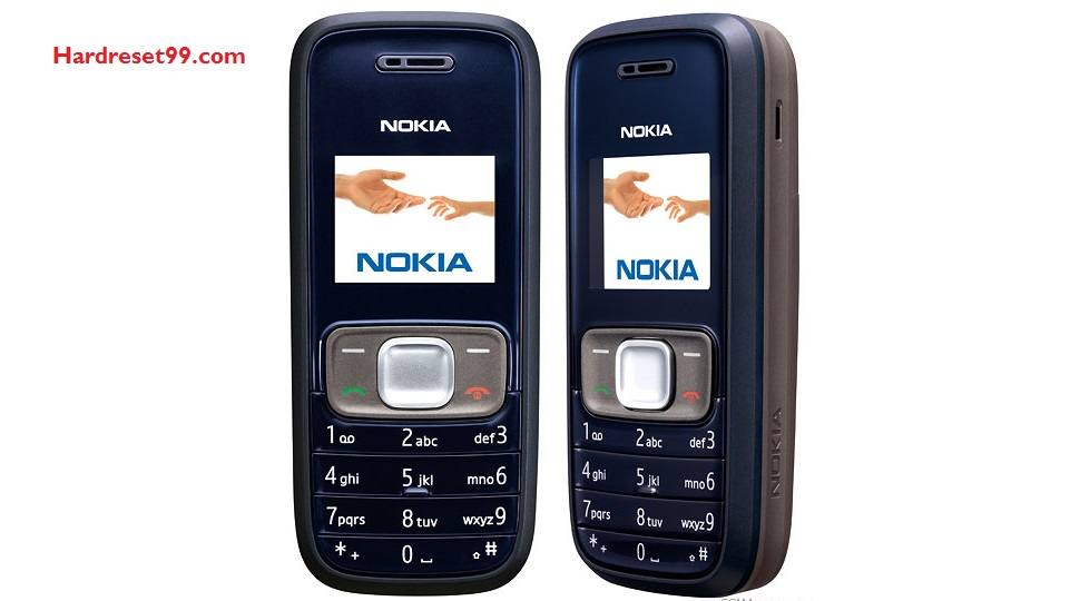 Nokia 1209 Hard reset - How To Factory Reset